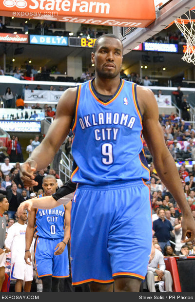 2012 NBA - Oklahoma City Thunder at Los Angeles Clippers (92-77) - April 16, 2012