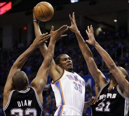 Spurs-Thunder-Basketball-Kevin-Durant