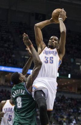 Kevin Durant, Larry Sanders