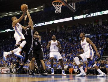 Spurs-Thunder-Basketball