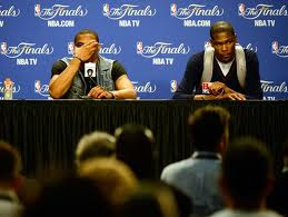 kevin durant russell westbrook oklahoma city thunder nba finals