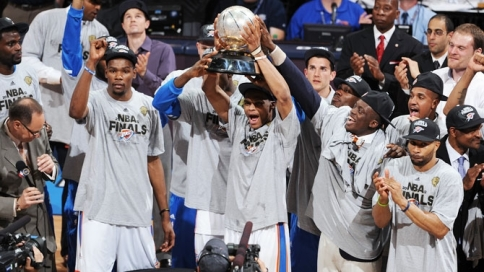 thunder western conference champs