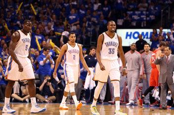 Houston Rockets v Oklahoma City Thunder - Game One