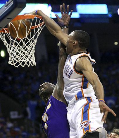 westbrook odom thunder lakers