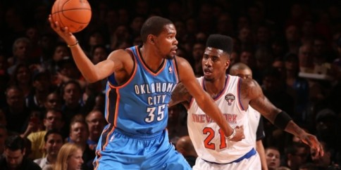 durant shumpert knicks thunder