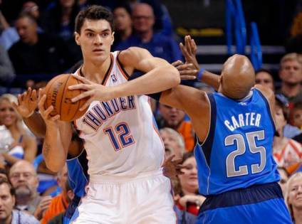 steven adams thunder vince carter