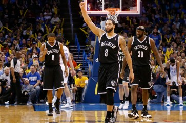 Alan Anderson, Deron Williams, Reggie Evans