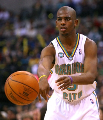 chris paul oklahoma city hornets