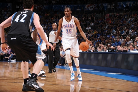 durant love thunder timberwolves