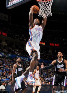 ibaka durant thompson salmons thunder kings