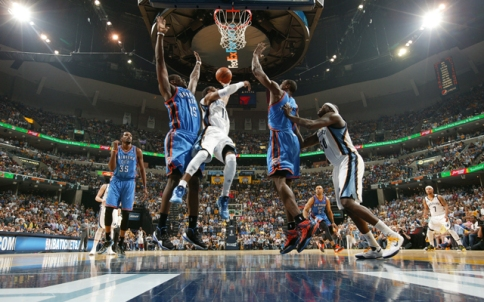 Oklahoma City Thunder v Memphis Grizzlies - Game Three