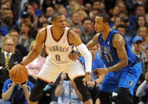 westbrook ellis thunder mavericks