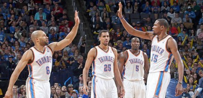 fisher durant sefolosha perkins thunder