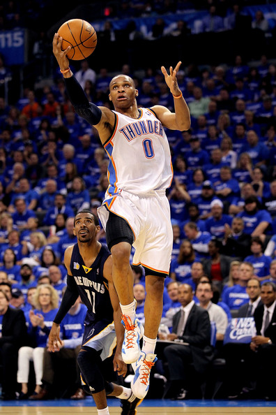 westbrook conley thunder grizzlies