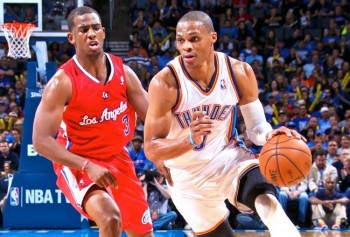 westbrook paul thunder clippers