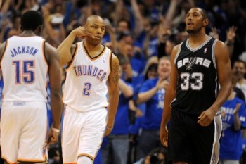 NBA: Playoffs-San Antonio Spurs at Oklahoma City Thunder