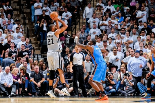 duncan perkins spurs thunder