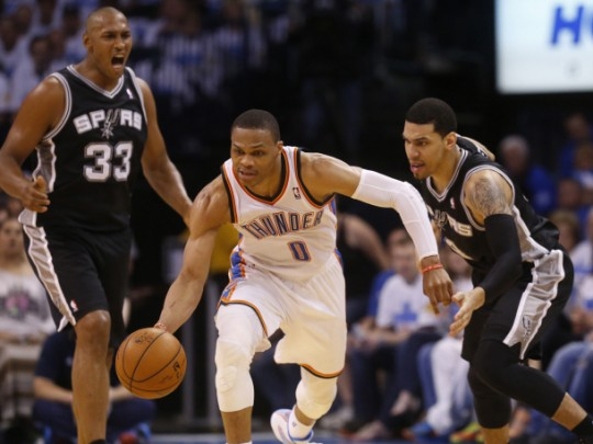 Spurs Thunder Basketball