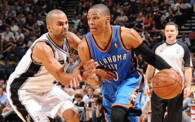 Oklahoma City Thunder v San Antonio Spurs -Game Two