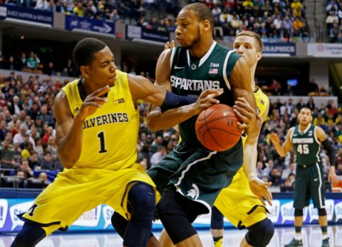 NCAA Basketball: Big Ten Tournament Michigan State v Michigan