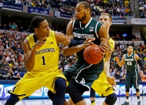 NCAA Basketball: Big Ten Tournament Michigan State v Michigan