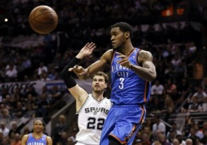 jones splitter westbrook thunder spurs