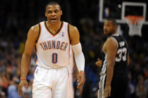 westbrook diaw thunder spurs
