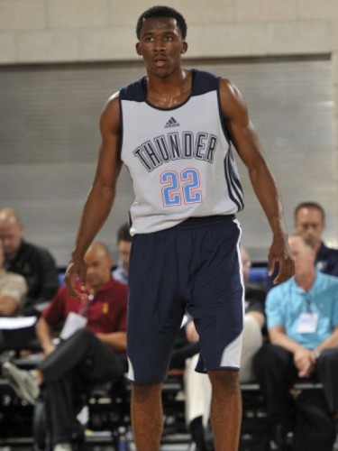 semaj christon thunder summer league