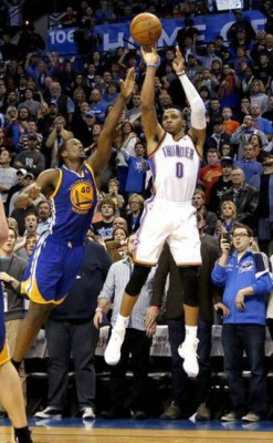 westbrook thunder barnes warriors