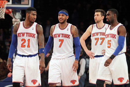 knicks shumpert anthony bargnani hardaway