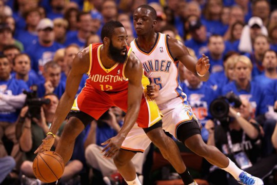 reggie jackson james harden thunder rockets