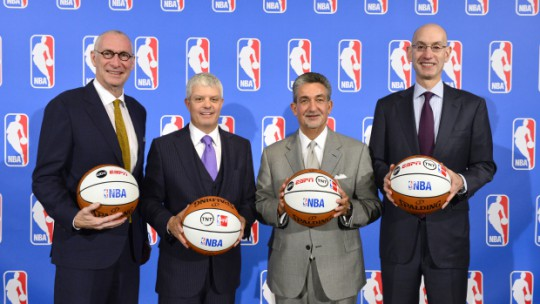 NBA Announces New Media Partnerships