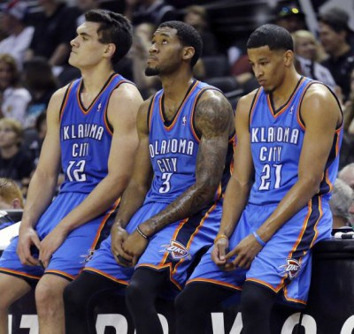 adams jones roberson thunder