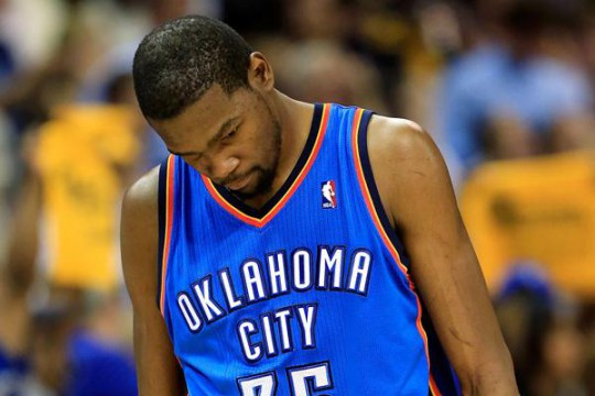 durant thunder injury