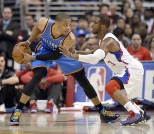 Oklahoma City Thunder at Los Angeles Clippers