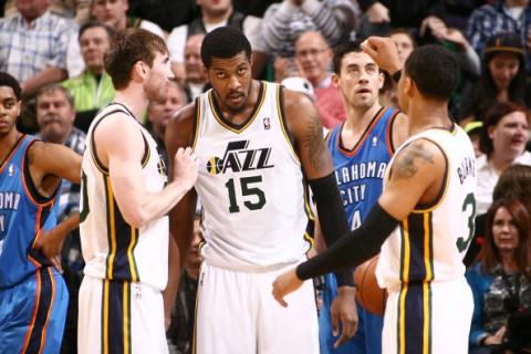Oklahoma City Thunder v Utah Jazz