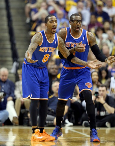 jr smith amare stoudemire knicks