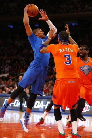 westbrook stoudemire thunder knicks