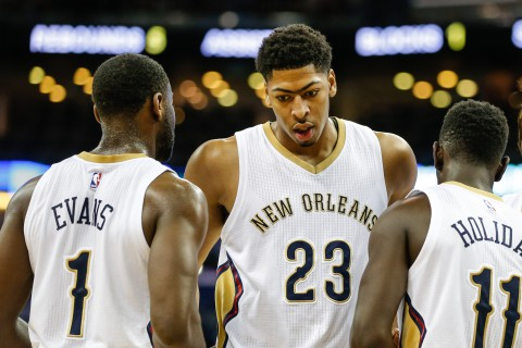 NBA: Preseason-Oklahoma City Thunder at New Orleans Pelicans