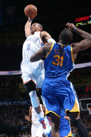 westbrook thunder ezeli warriors