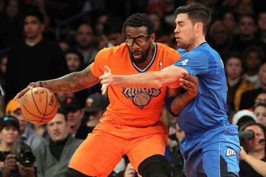 stoudemire collison thunder knicks