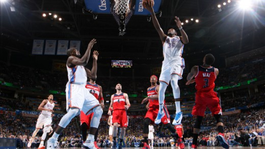 Washington Wizards v Oklahoma City Thunder