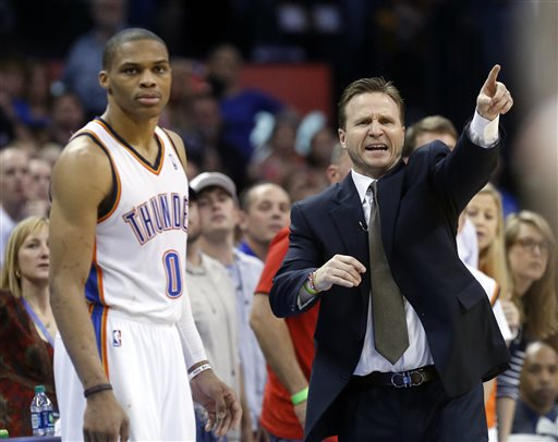 Scott Brooks, Russell Westbrook