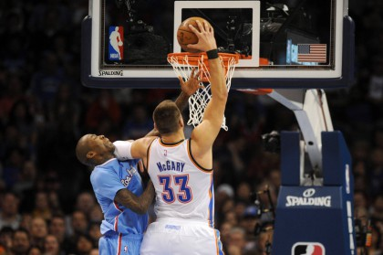 NBA: Los Angeles Clippers at Oklahoma City Thunder