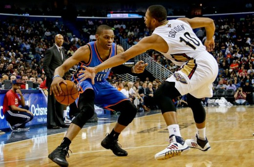 westbrook thunder gordon pelicans