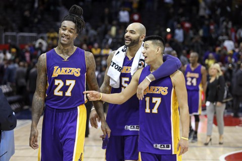 NBA: Los Angeles Lakers at Atlanta Hawks