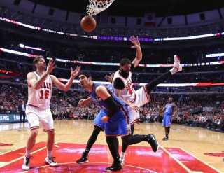 NBA: Oklahoma City Thunder at Chicago Bulls
