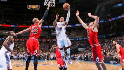 Chicago Bulls v Oklahoma City Thunder