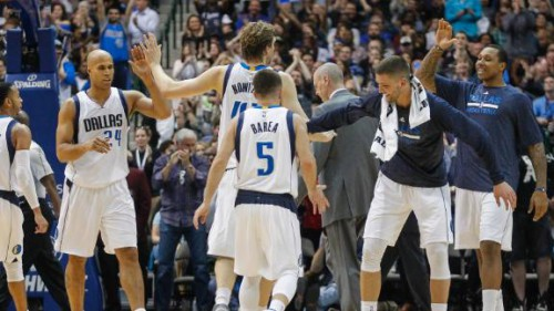 nowitzki jefferson barea parsons mavericks