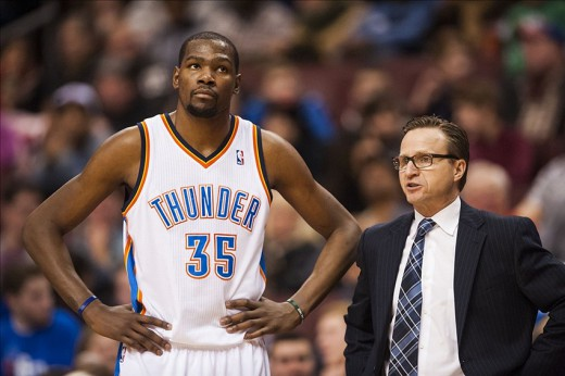 scott brooks durant thunder